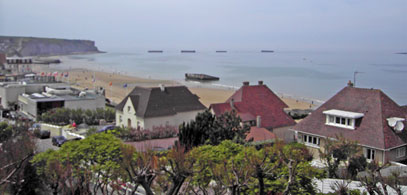 D-Day Mulberry Harbour at Arromanches